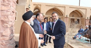 علیرضانقوی به عنوان شهردار جدید انارک