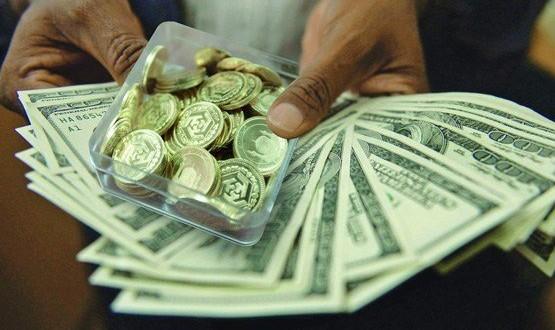 دلار وسکه