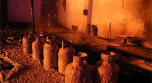 آتش سوزی کارخانه