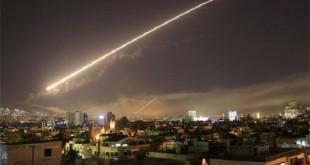 حمله موشکی شبانه به حمص