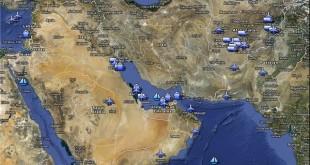 پایگاههای نظامی آمریکا در منطقه